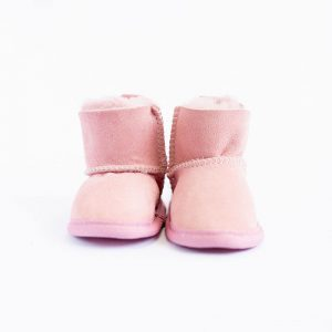 Emu Booties Sheepskin Pink