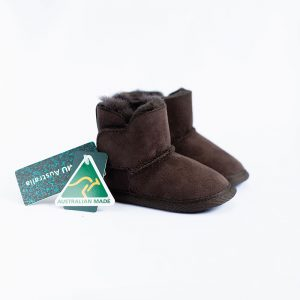 Emu Chocolate Sheepskin Bootie