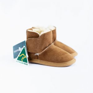 Emu Sheepskin Booties Natural