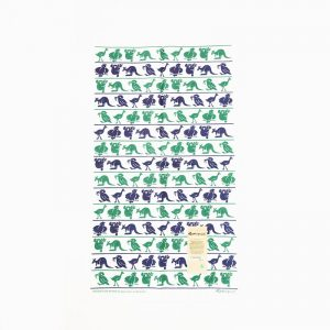 Rodriquez Tea Towel Australian Animals